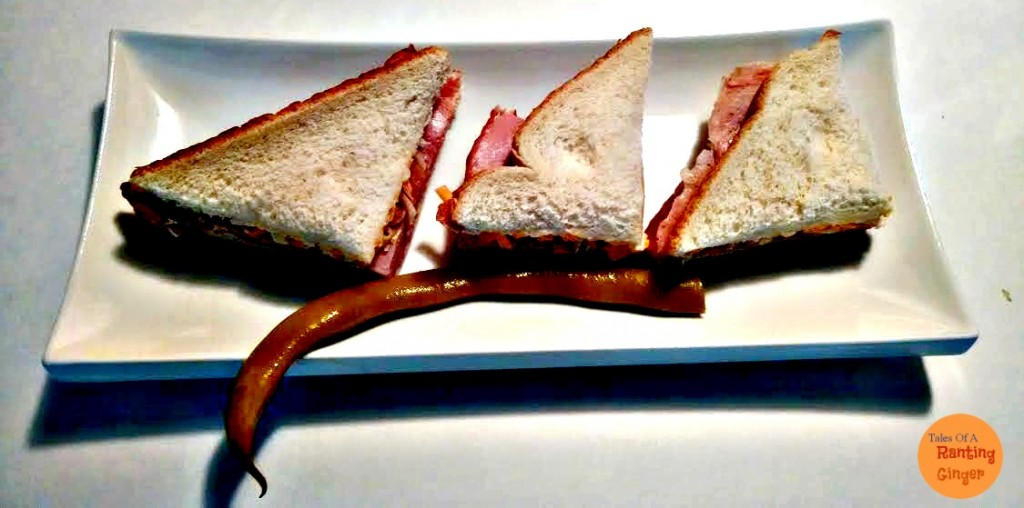 bean with sandwich
