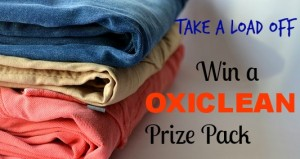 Take a Load off with OxiClean Canada- Giveaway