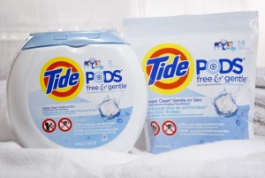 Tide Pods Free & Gentle- Win a Sensitive Skin Laundry Pack Canada #PGMom
