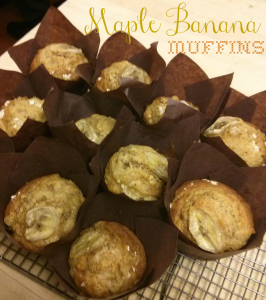Maple Banana Muffins