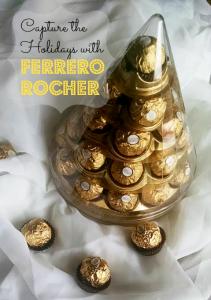 Decorating with Ferrero Rocher this Holiday season #FerreroMoment