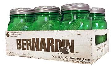 Vintage-Green-Jars