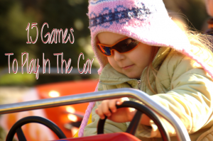 15 Games to Play in the car