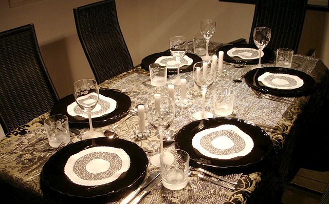 tables setting