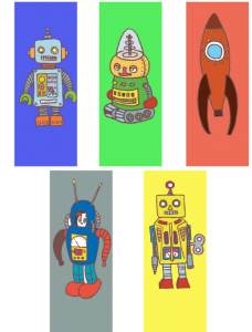 Free printable bookmarks for boys
