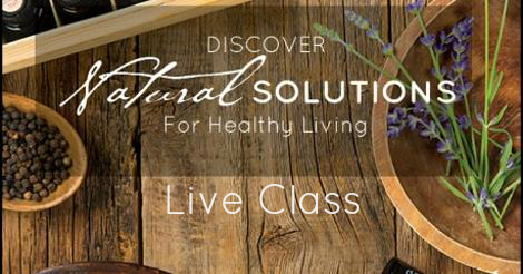natural solutions live class