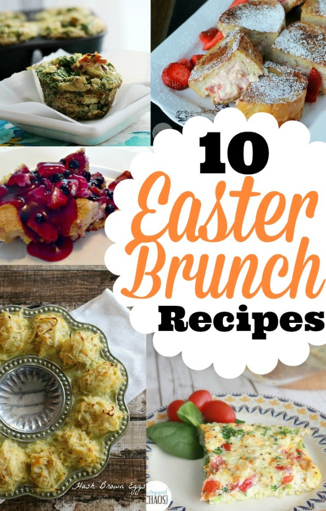10 Easter Brunch Recipes