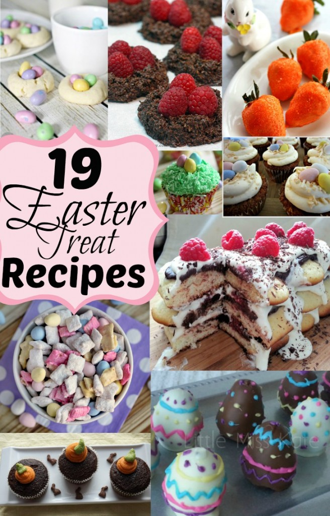 Easter treat recipe round up