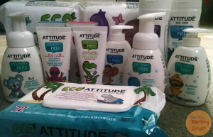 ATTITUDE Little Ones- The Baby line you can trust