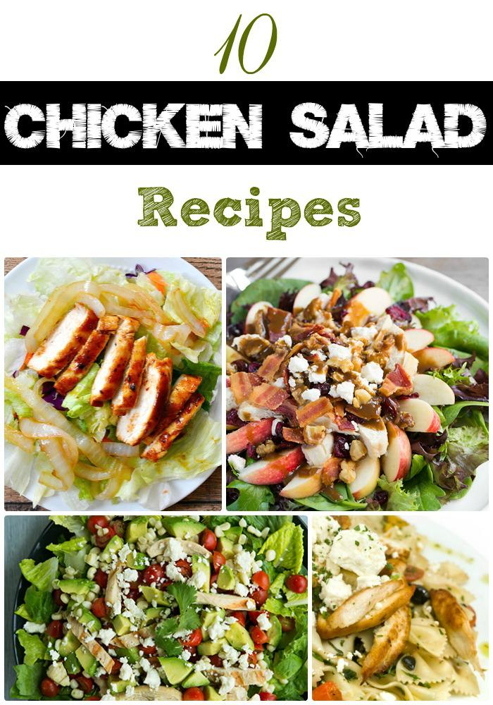 chicken salad recipe round up