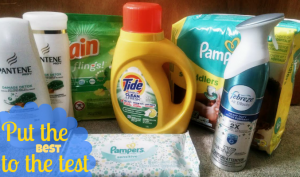 Put the best to the test from P&G #PGMom Giveaway Canada