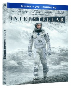 INTERSTELLAR Blu-ray Combo Pack
