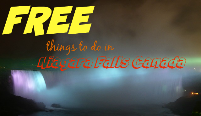 Free things to do in Niagara Falls Canada