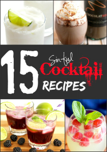 15 Sinful Cocktail Recipes