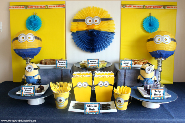 minion-party-food-table