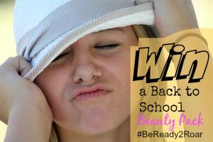 Walmart Celebrates Back-to-School #BeReady2Roar Giveaway