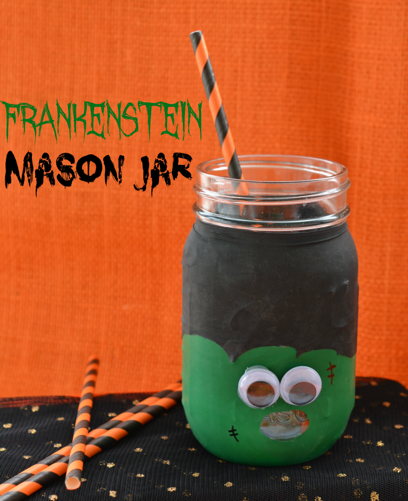 frankenstein mason jar craft frankenstein jar craft for tales of a 4503