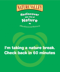 Get Outdoors with Nature Valley #REDISCOVERNATURE