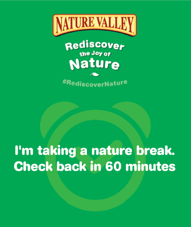 Nature Break Button