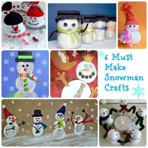 6 Must make Snowmen crafts