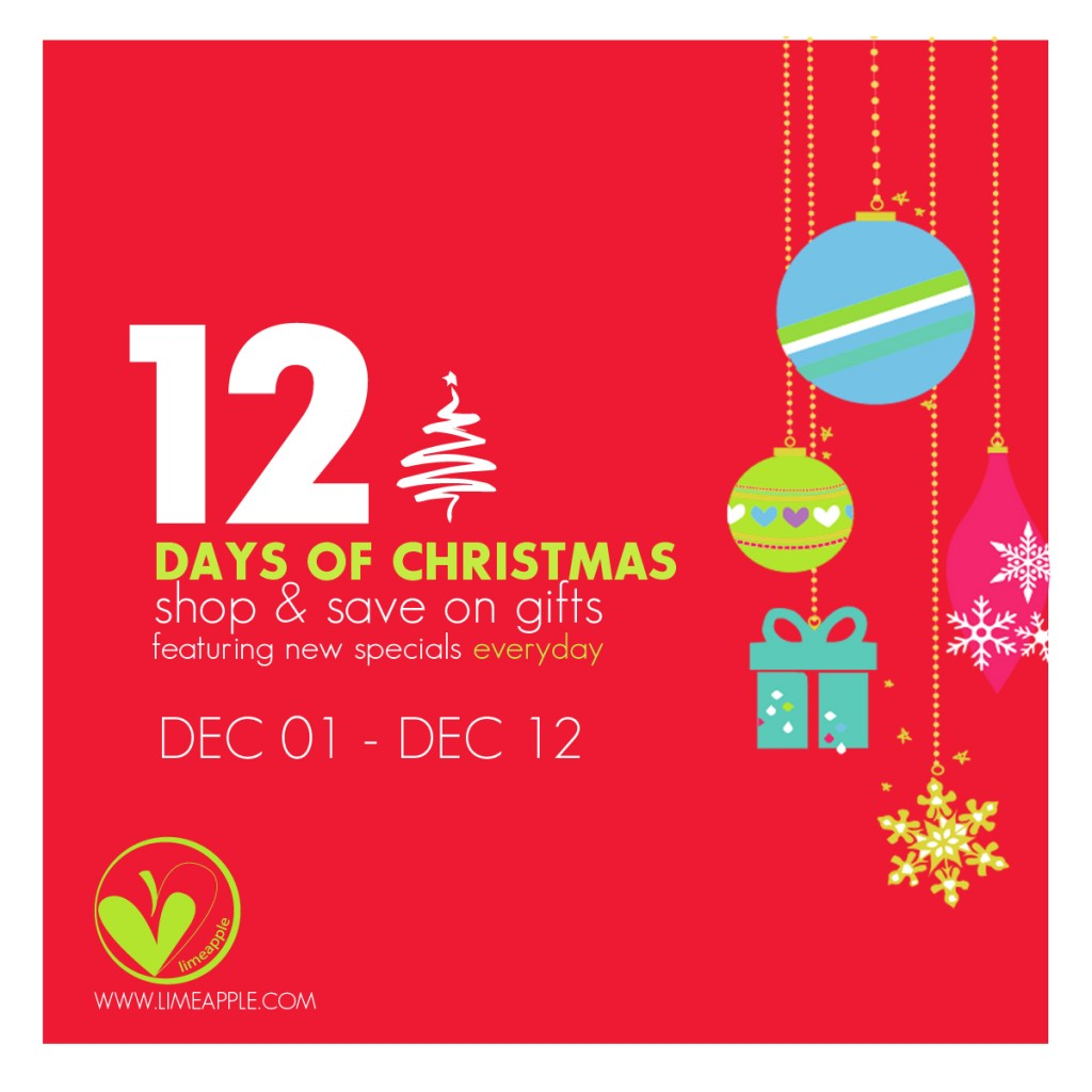 12 days of christmas announcement
