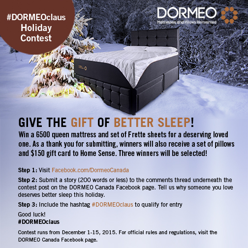 DORMEO_Holiday contest_Nov26