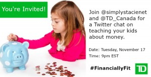 Join us for the #FinanciallyFit Twitter Chat Nov 17 9pm EST #ad