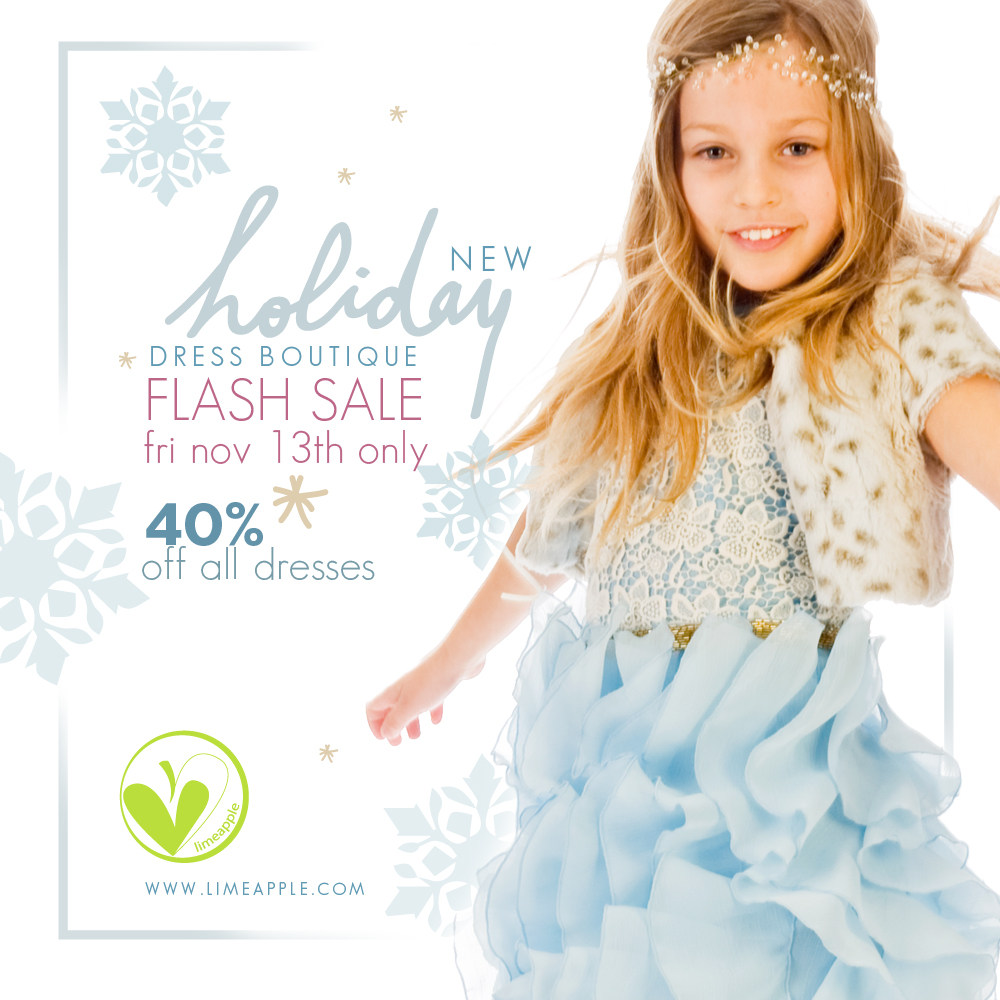 holiday dress sale promo 1
