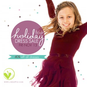 Limeapple Holiday Dress Flash Sale