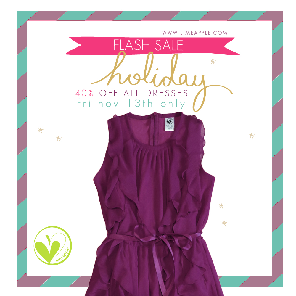 holiday dress sale promo 3