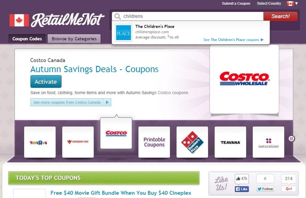 retailmenot-search