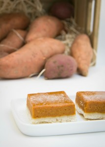 Sweet Potato Shortbread Bars #switchtosweet