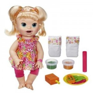 Baby Alive Snackin' Sara doll – A great gift
