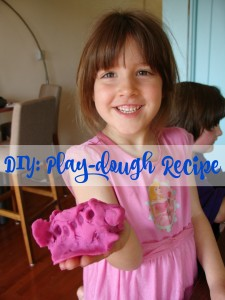 DIY Play Dough Recipe