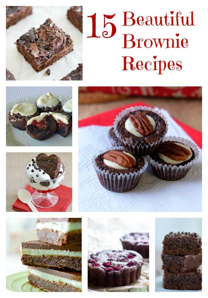 Beautiful brownies to bake