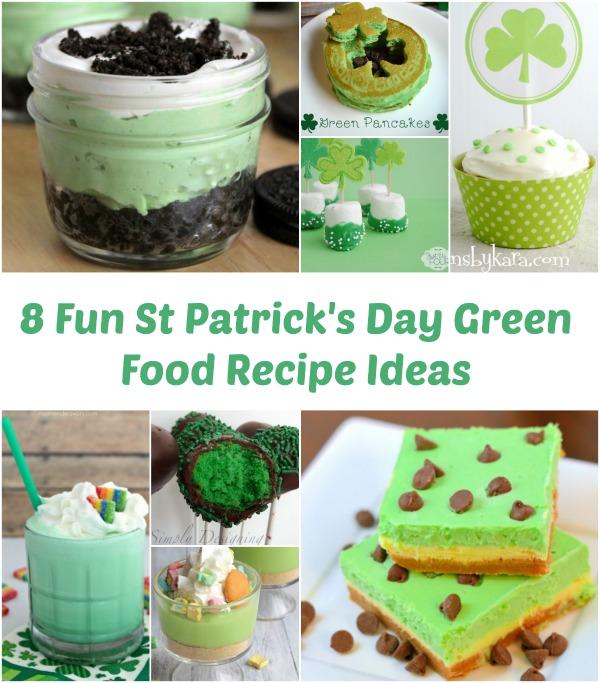 8 Fun St Patrick's Day Green Food Recipe Ideas 2