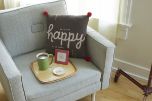 Happy Pillow - $34.95