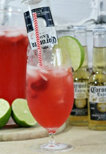 Strawberry Beer-rita