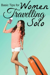 tips for women traveling solo
