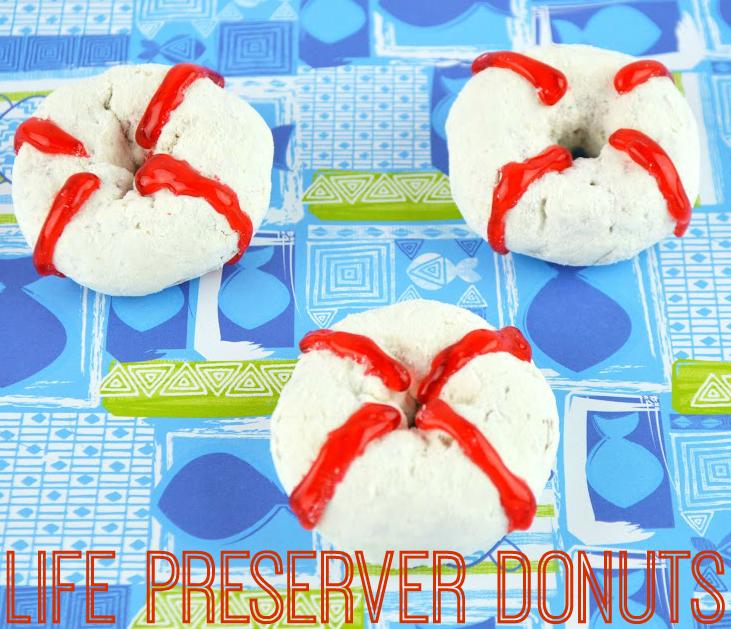 Life Preserver Donuts