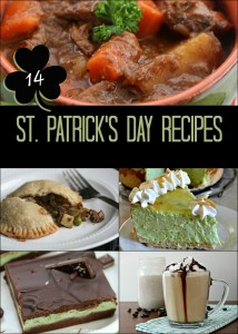St Patrick's Day recipe round up