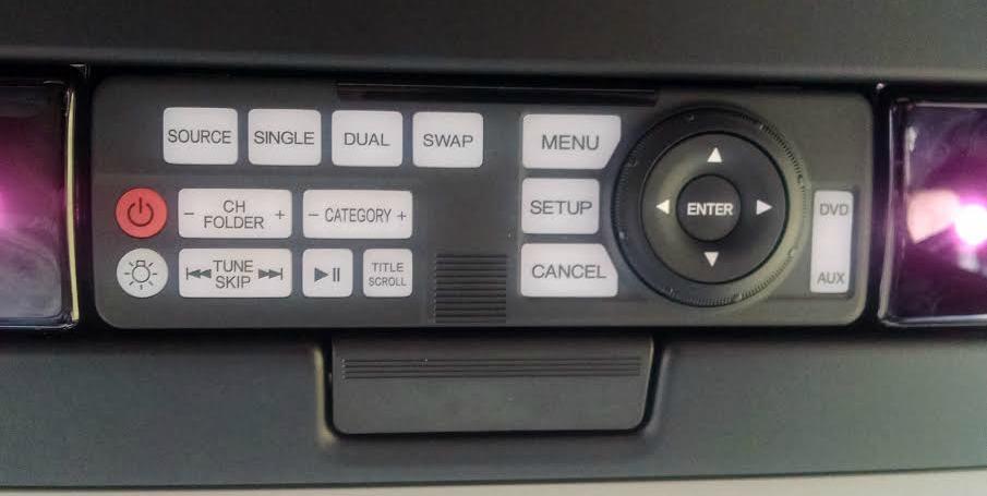 rear controls