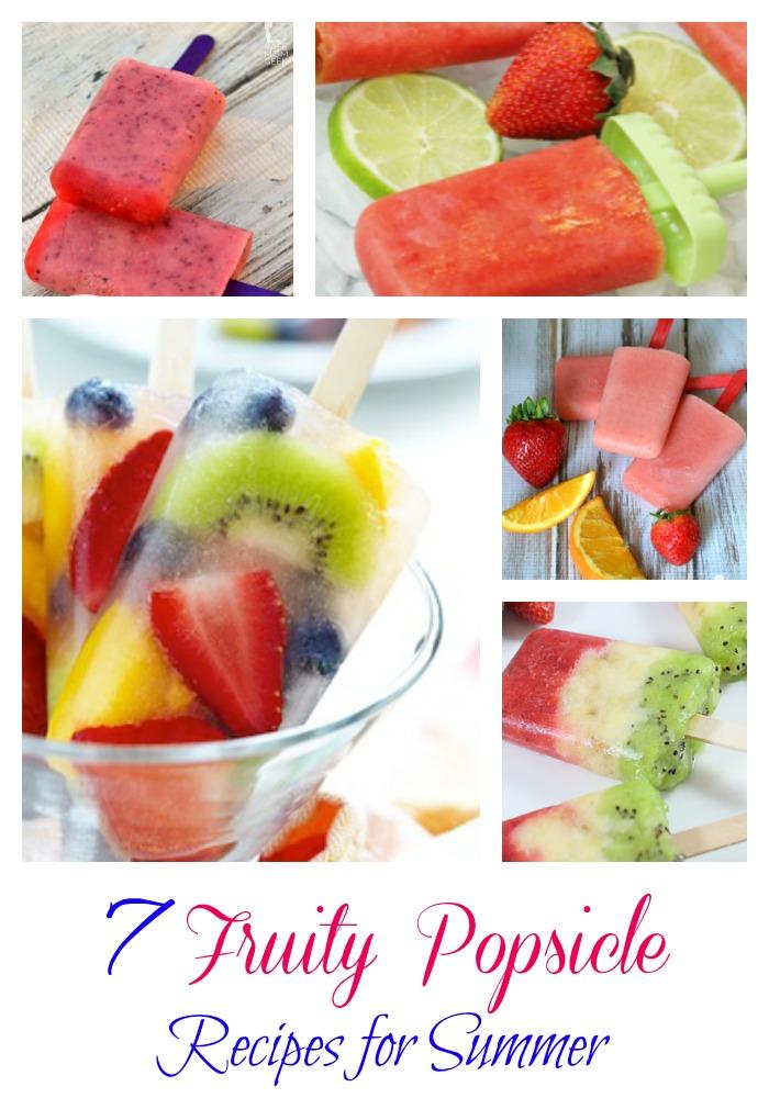 fruity summer Popsicles