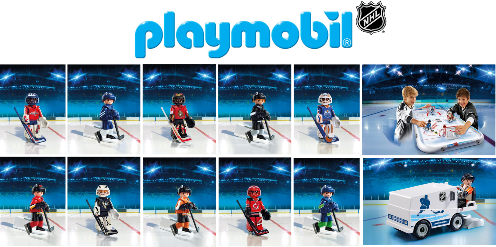 PLAYMOBIL NHL toys