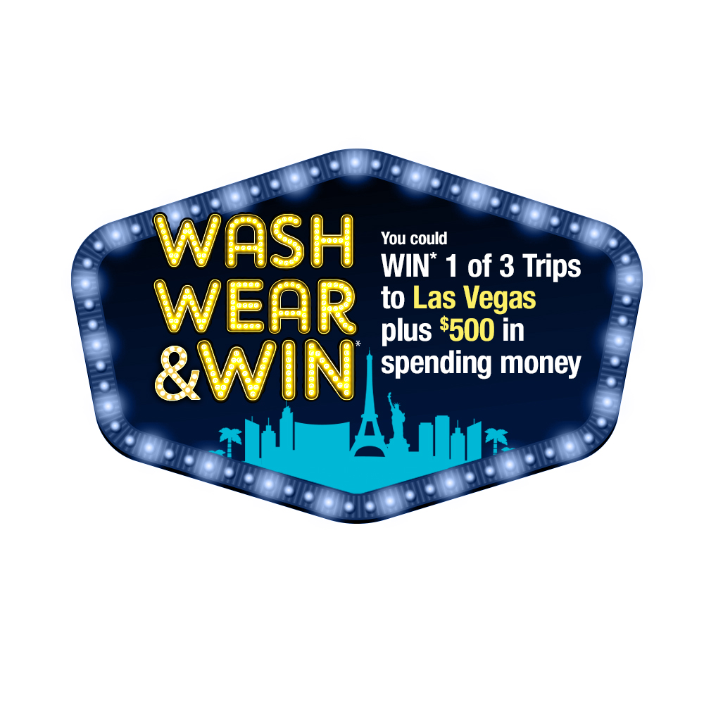 Wash Wear and Win Logo