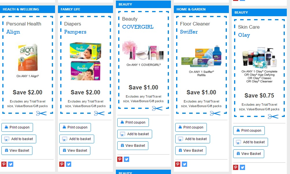 Print coupons to save