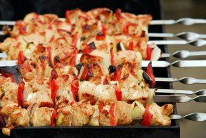 Grilled Turkey Kabob