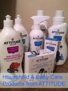 New Chamomile-scented Household & Baby Care Products from ATTITUDE (GIVEAWAY)
