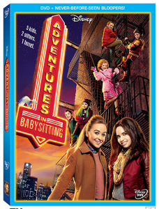 Disney Channel Original Movie Adventures in Babysitting on DVD