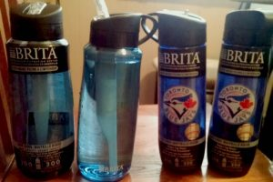 Drinking more Water with Brita Hard Sided on-the-go Water Bottles